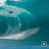 WORST WIPEOUT EVER AT TEAHUPOO?