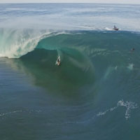 TEAHUPOO FROM ABOVE